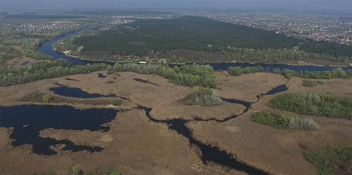 Obukhiv Flood Plains