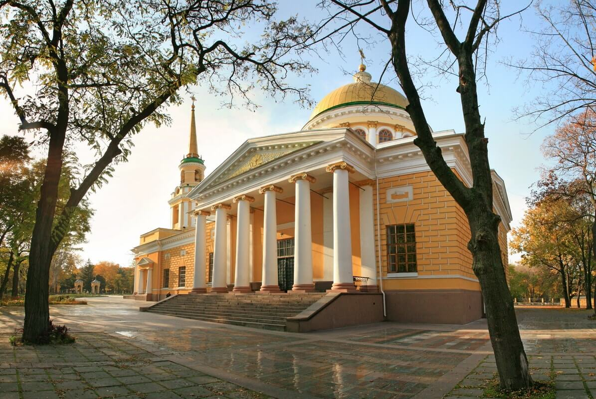 The Spaso-Preobrazhenskyi Cathedral