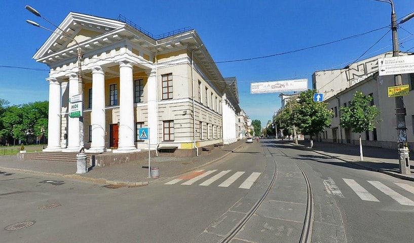 Mezhyhirska Street
