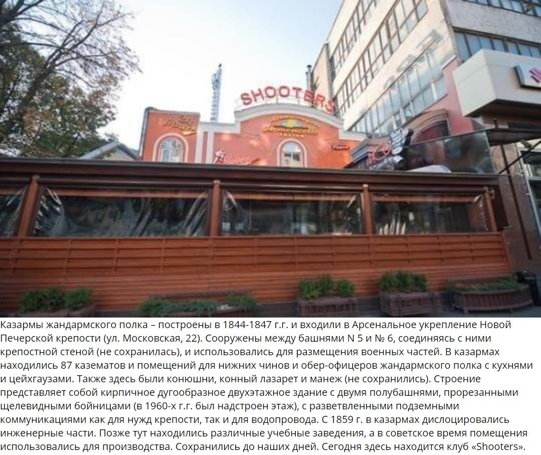Казармы жандармкого полка