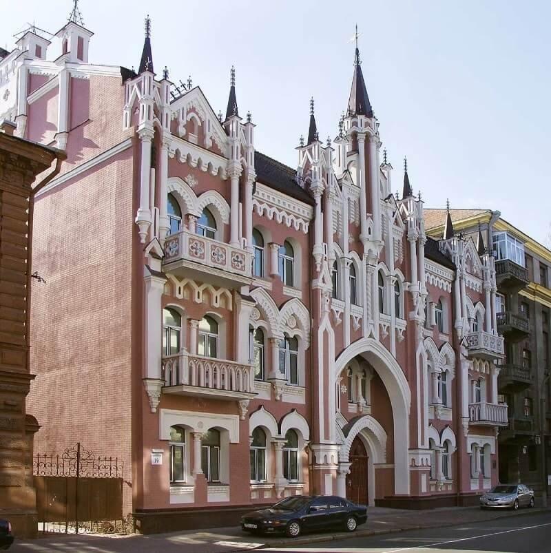дом Икскюль Гильденбанда