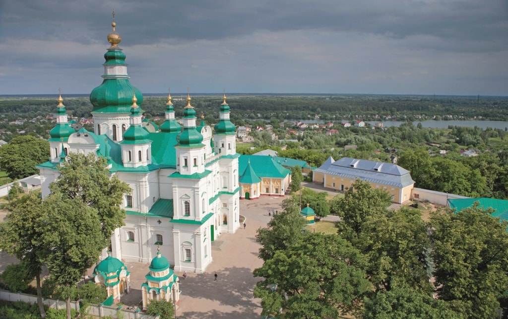 Chernihiv. The city of churches