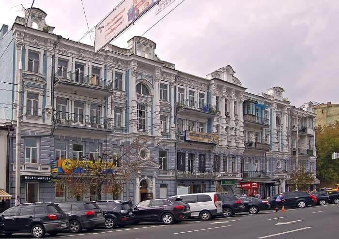 Antonovych street, 48