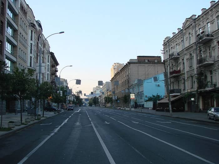 Saksaganskogo Street