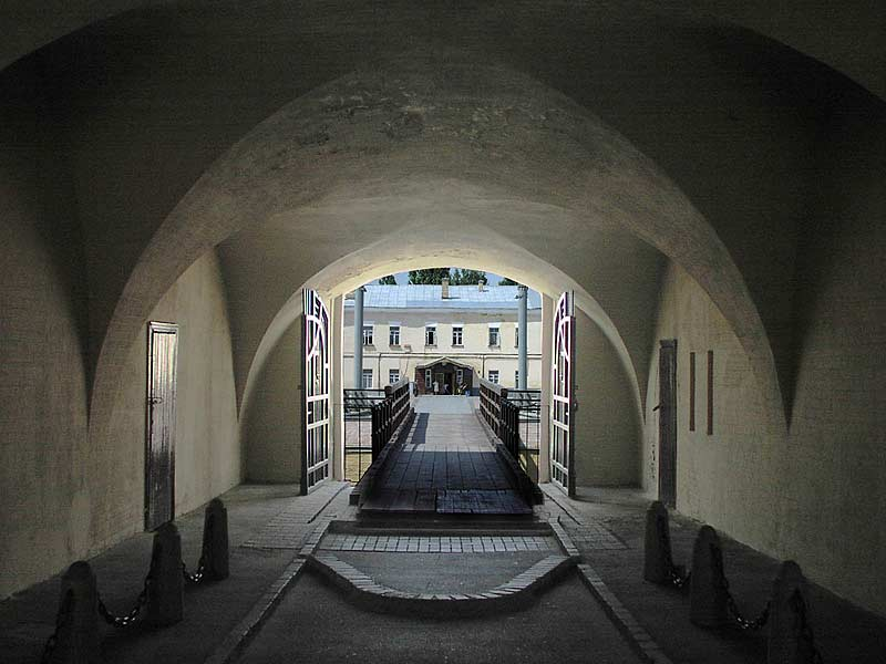 Hospital fortification of the Oblique Caponier