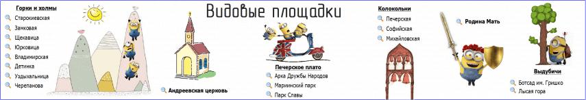 Смотровые площадки Киев