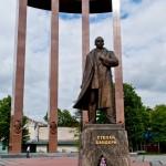 19-памятник Бандере/  Bandera Monument