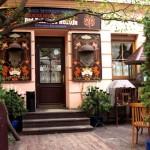 """6- ресторан """"Под золотой розой"""" / restaurant """"Under the Golden Rose"""""""