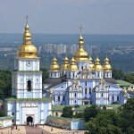 2. St. Michael's Golden-domed Cathedral