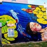 Mural on the Kostiantynivska Street, 56