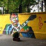 Mural on the Mykhailivska Street, 24-a