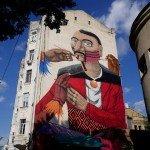 Mural on the Spaska Street, 6-a
