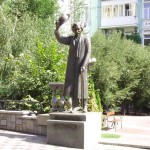 The monument to Sholom Aleichem