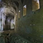 Верхняя подпорная стена