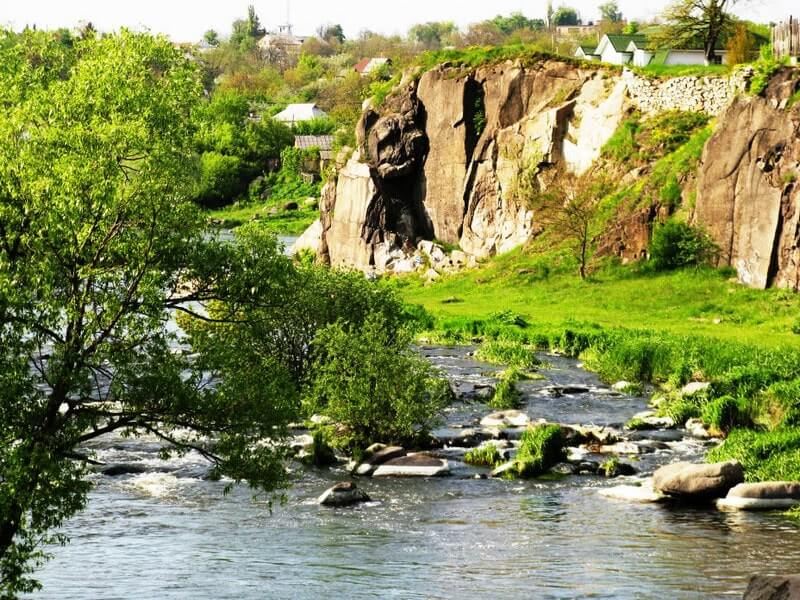 Bohuslavsky granite outcrop