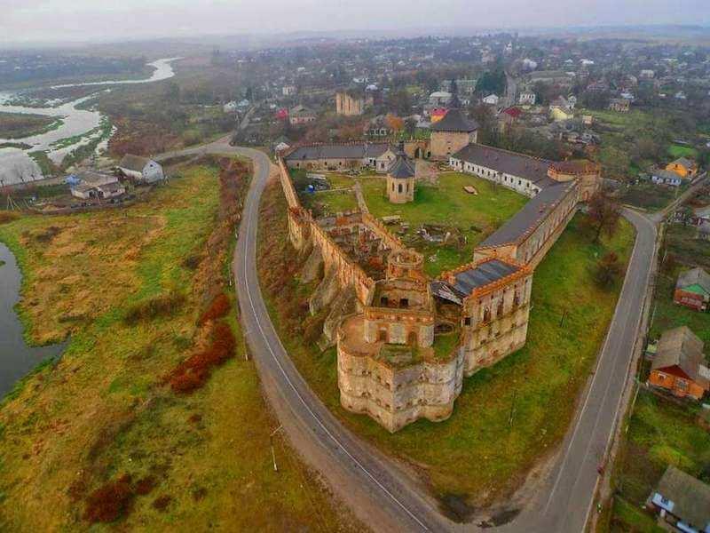 Medzhybizh castle-fortress