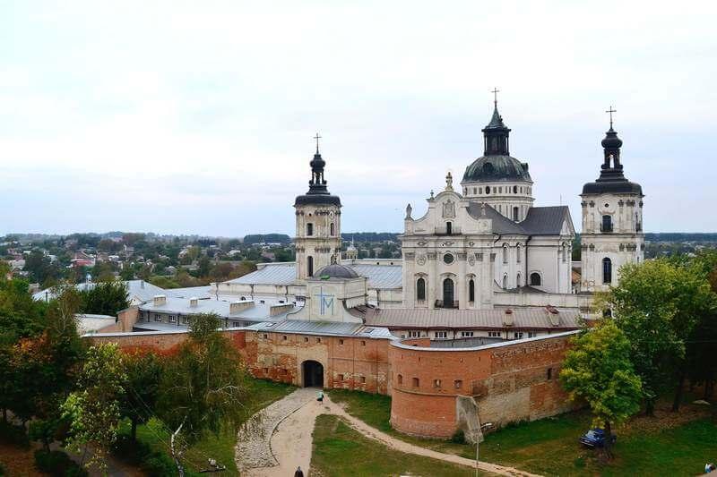 Монастырь-крепость ордена Босых Кармелитов
