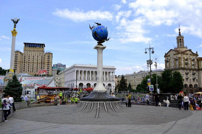 Нулевой км Киев