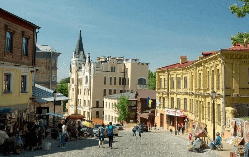 Souvenir market Kiev
