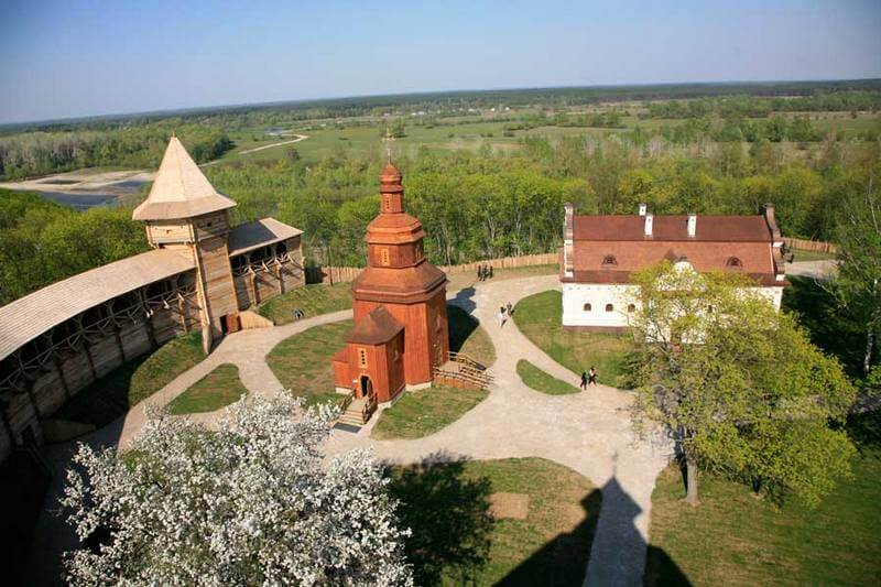 Цитадель Батуринской крепости