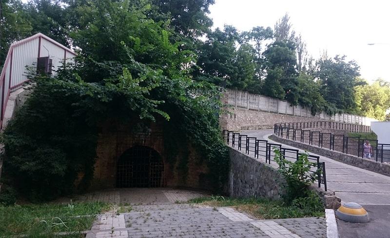 Земляные валы Васильковского укрепления