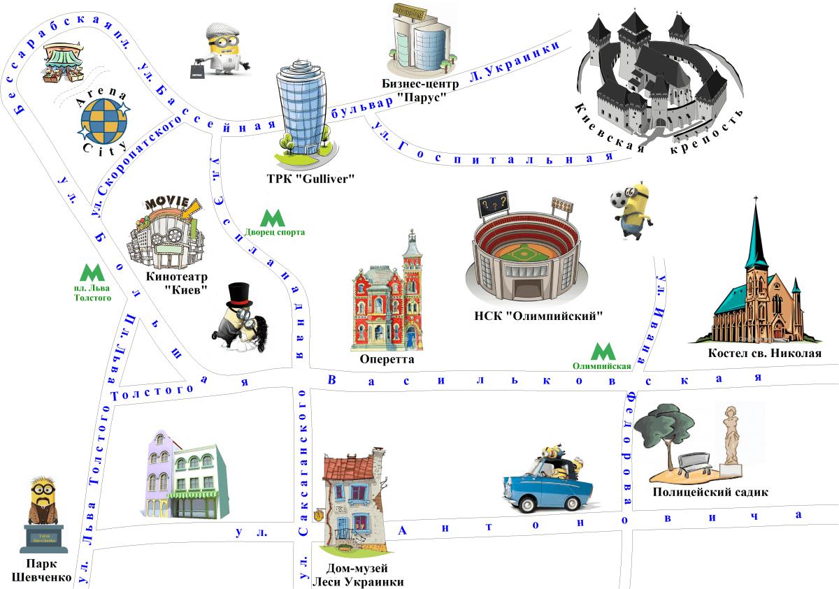 Карта Новой Застройки