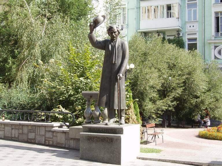Памятник Шолом-Алейхему