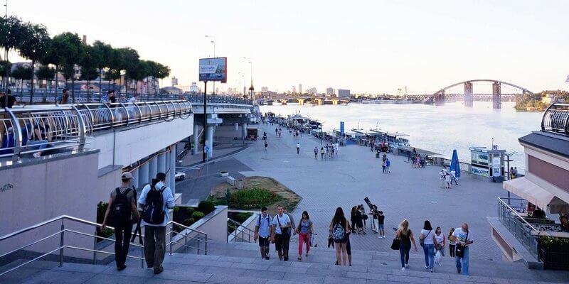 Kiev embankment