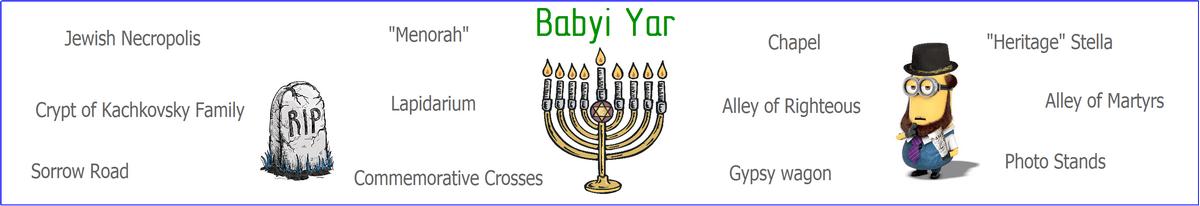 Babyi Yar tour