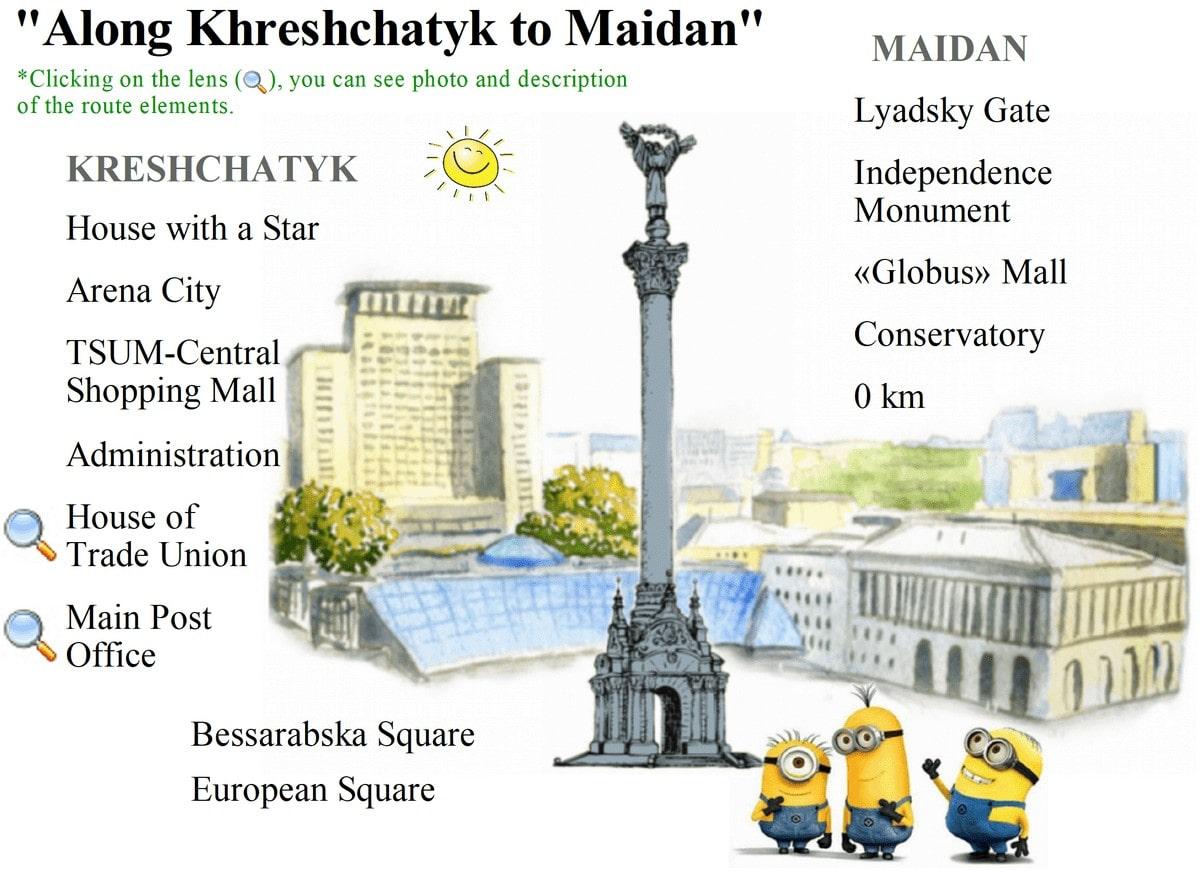 Excursion center Kiev Kreshchatyk