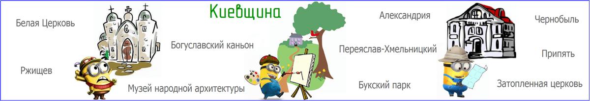 Экскурсия по киевской области