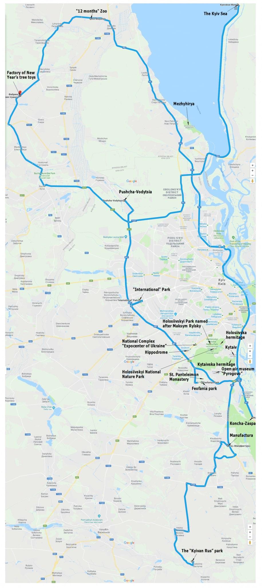 map Kyiv