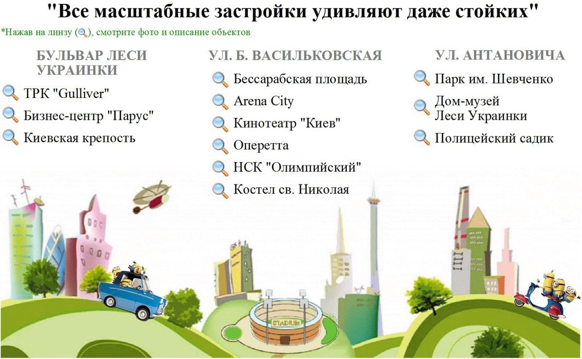 Экскурсия по Новой застройке