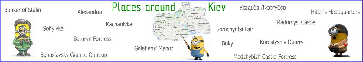 Tourist places tour
