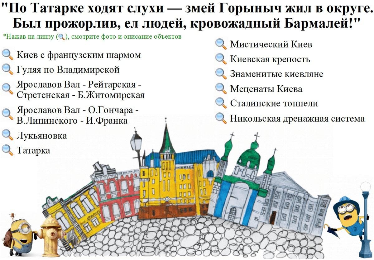 Экскурсия для киевлян