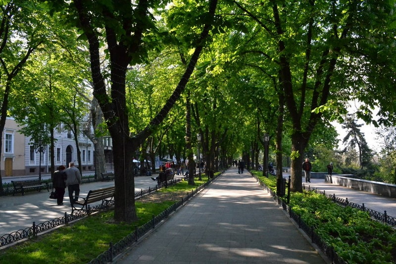 Prymorsky Boulevard