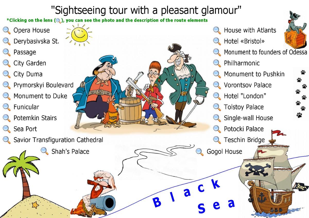 Sightseeng tour Odessa