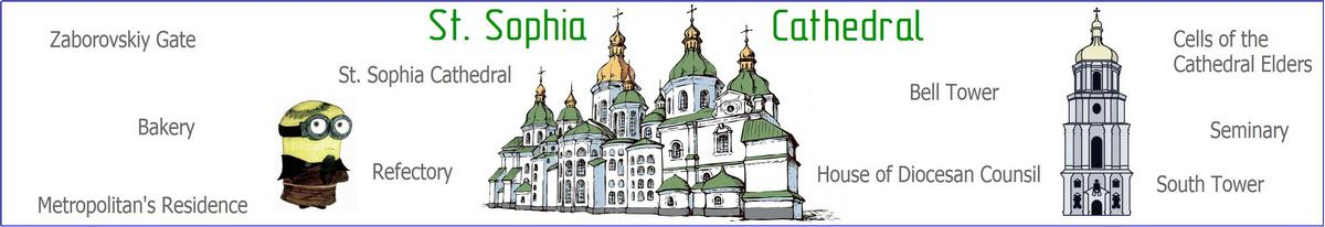 St. Sophia cathedral tour