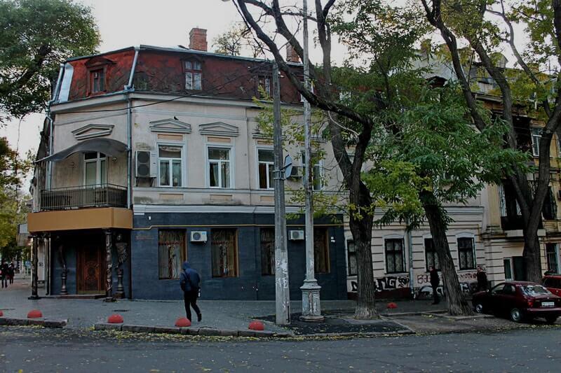 Дом, где жил В. Жаботинский