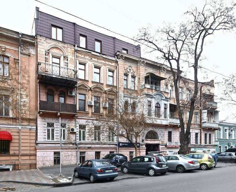 Дом, где создана Тиара Сайтаферна