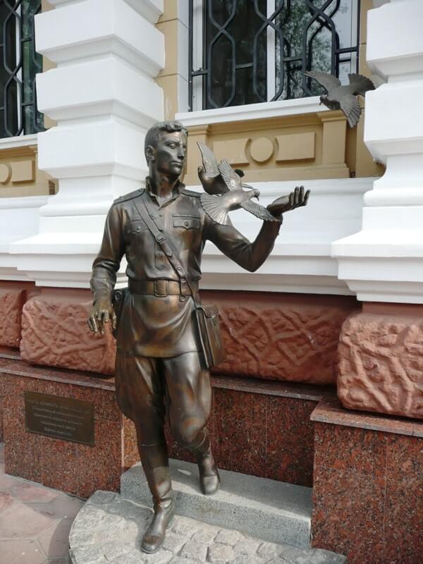 Памятник Гоцману