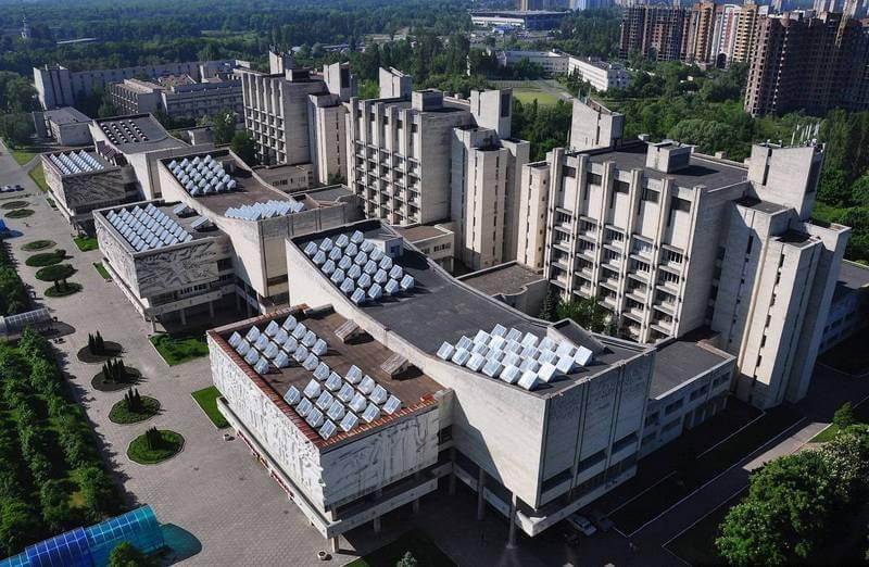 Университетский городок КНУ им. Шевченко