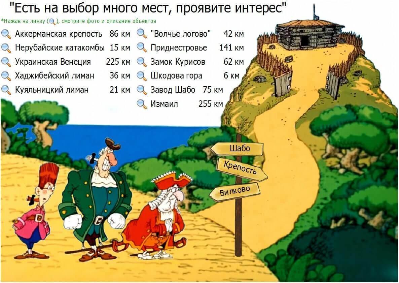 Загородные экскурсии Одессы