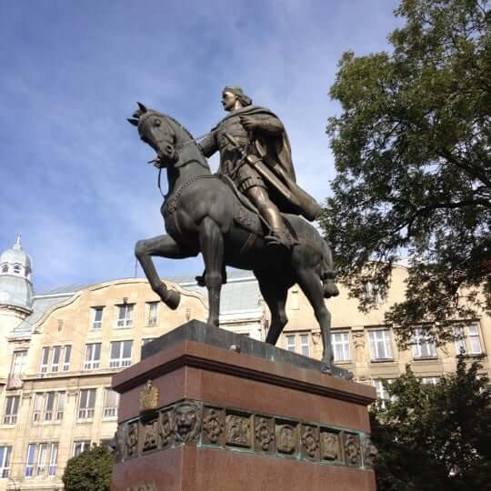 Памятник Даниле Галицкому