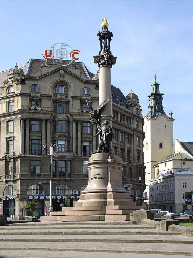 Памятник Мицкевичу