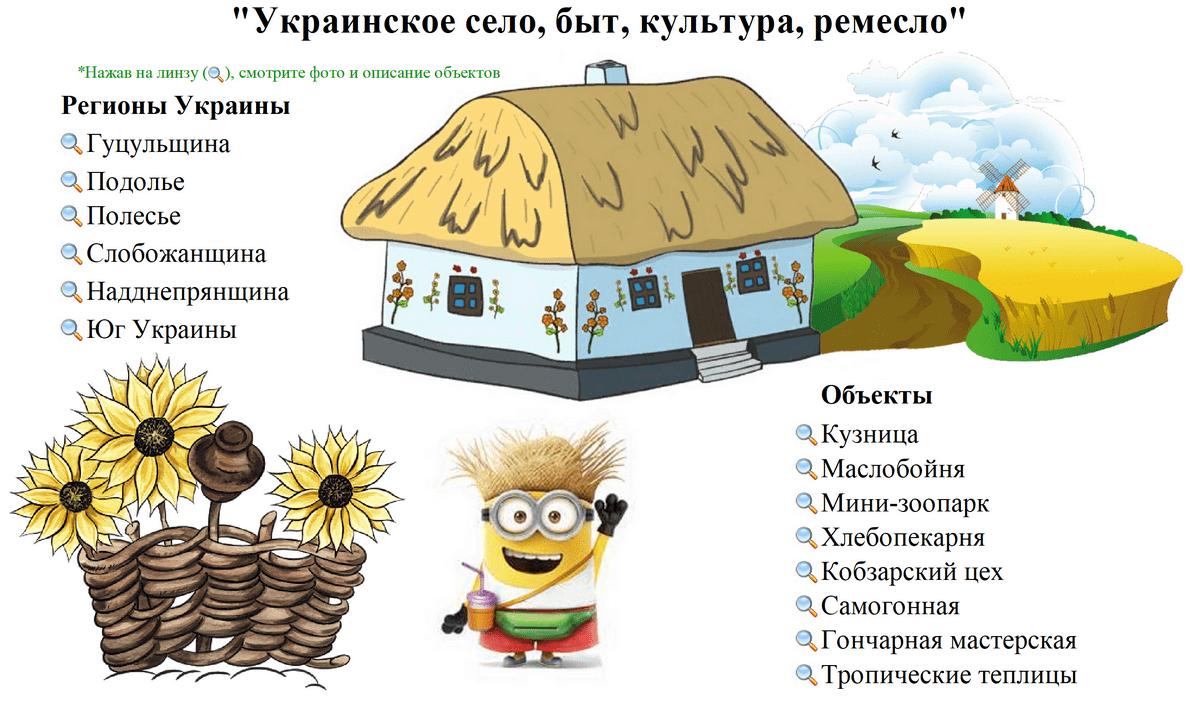 экскурсия украинское село