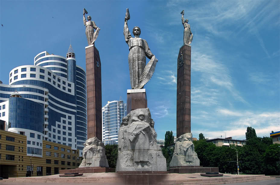 Sightseeing tour in Dnepropetrovsk, Monument of the Glory