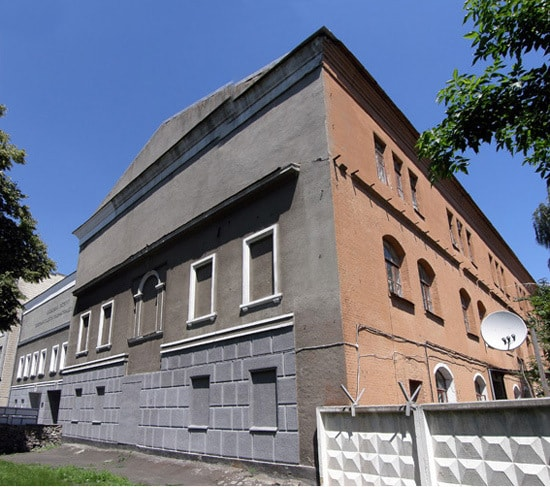 Barracks of military cantonists
