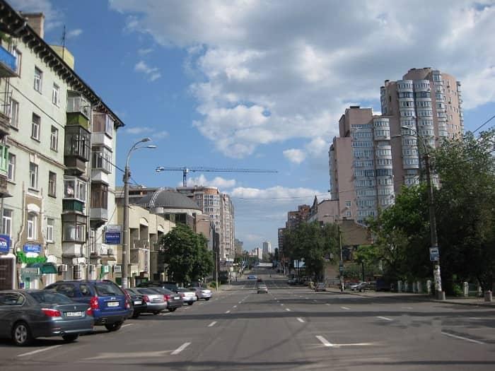 Antonovych Street