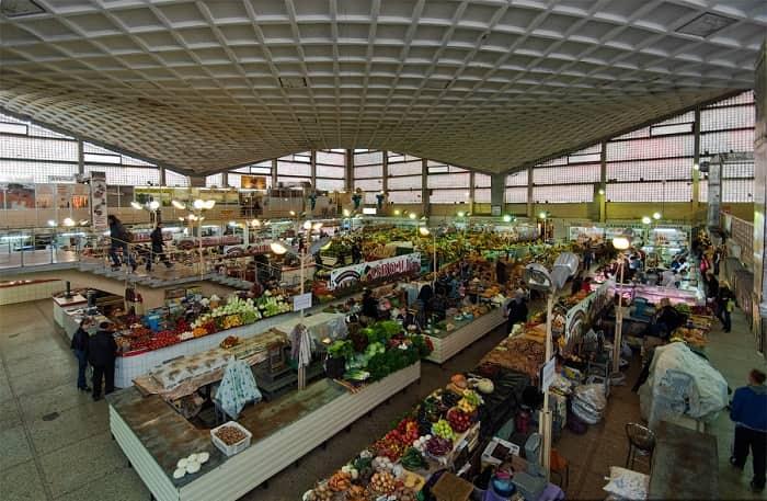 The Volodymyrskiy market